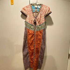 Beguile by Byron Lars Multi-Print dress size 2